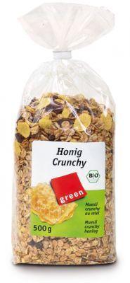 Крънчи мюсли с мед, био,  500 гр.
