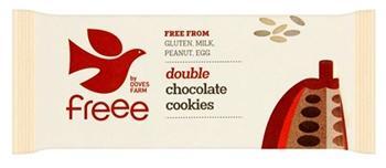 Бисквити с двоен шоколад,180 гр.БИО