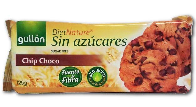 Бисквити с парченца шоколад (без захар),125гр.