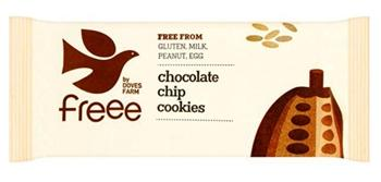 Бисквити с шоколадови парченца,180 гр.,БИО