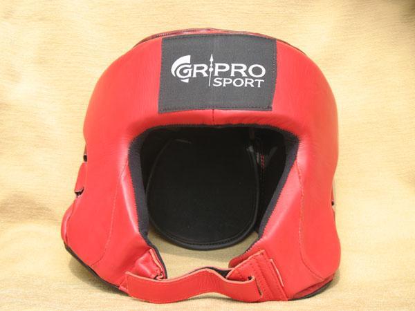 Боксова каска, червена, HOS-HBG-2800 GR-PRO
