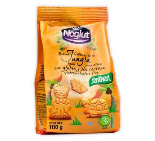 Детски бисквити Джунгла,без глутен,без лактоза,без яйца,100гр.