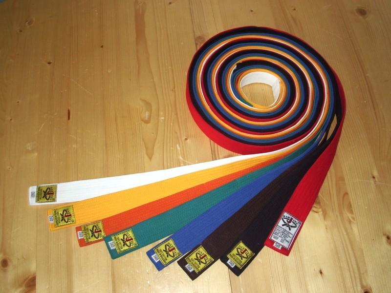 Цветни колани
