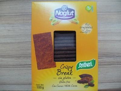 Крисп тост (сухари) Какао, без глутен, без лактоза