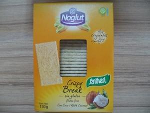 Крисп тост (сухари) Кокос, без глутен, без лактоза