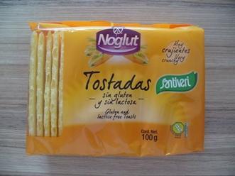 Крисп тост (сухари) без глутен, без лактоза