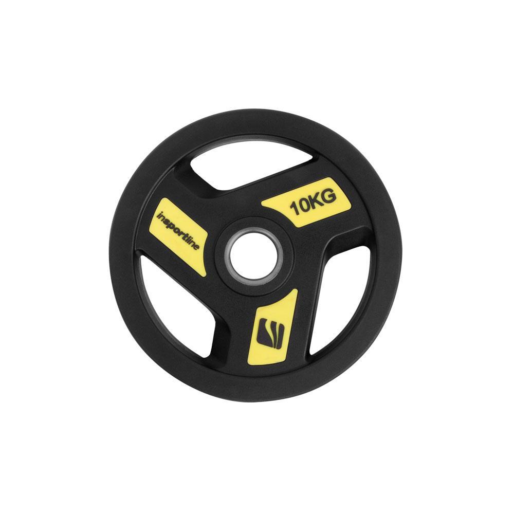 Олимпийски гумиран диск inSPORTline Herk 10 kg