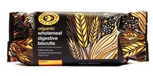 Пълнозърнести бисквити Digestive,200 гр.,БИО