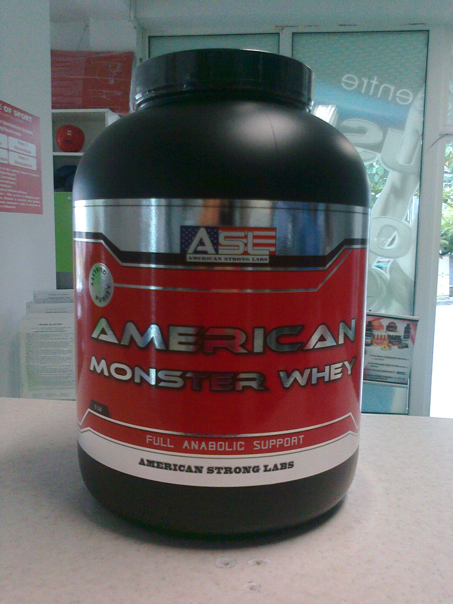 American Monster Whey 5lb (2286gr.)