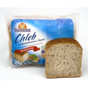 Хляб с амарант и ленено семе,300 гр