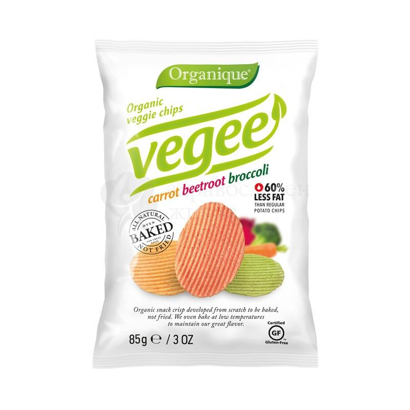 Био печен чипс - зеленчуков 85гр