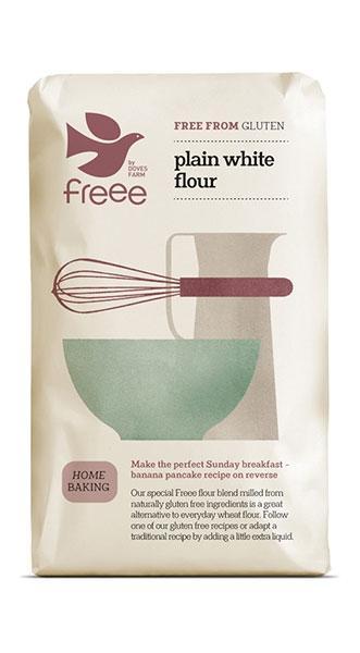 Бяло брашно за всякакви цели (Без Глутен)1 кг.