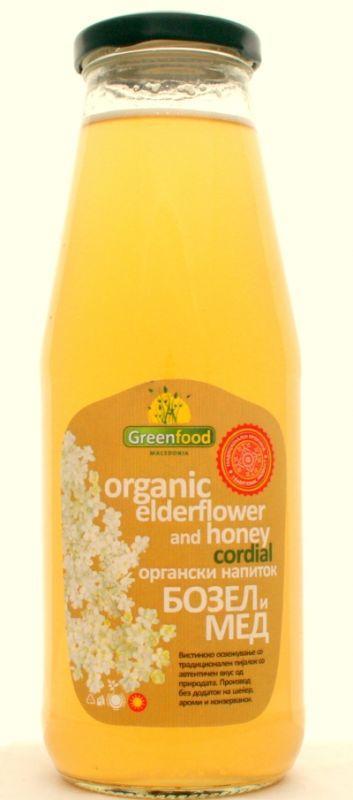 Био сок от бъз с мед