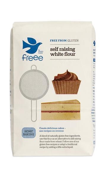 Бяло брашно с набухвател (Без Глутен)1 кг.