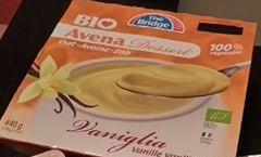 Био овесен десерт с ванилия