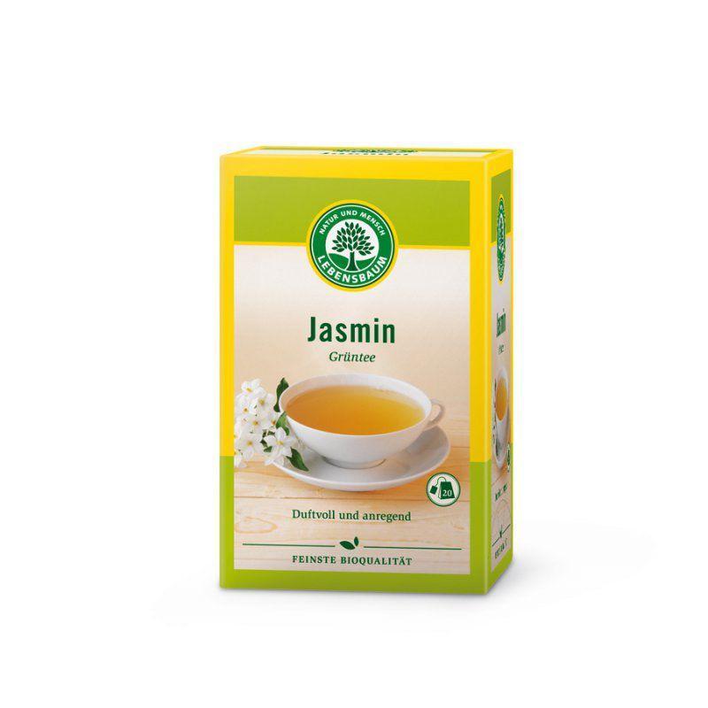 Био зелен чай Жасмин, пакетчета