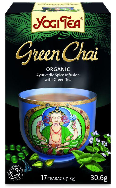 Био чай Йоги Зелен чай