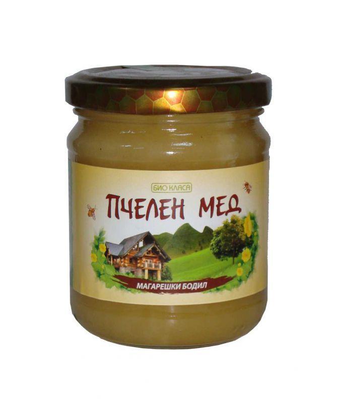 Био пчелен мед- магарешки бодил, 275г