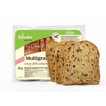 Многозърнест тъмен хляб с елда,350гр