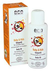 Олио за тяло за бебета и деца