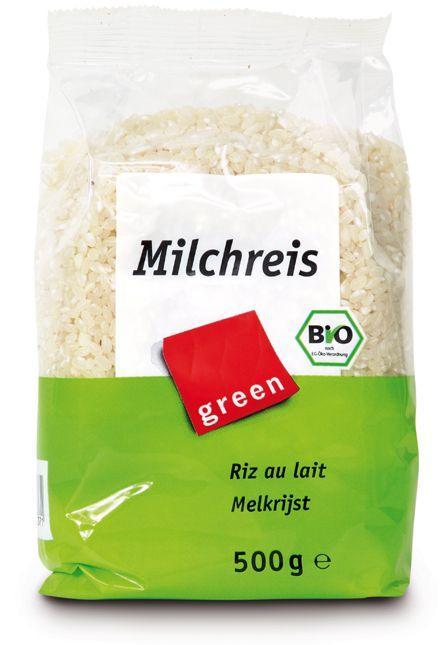 Ориз бял, кръглозърнест 500г.