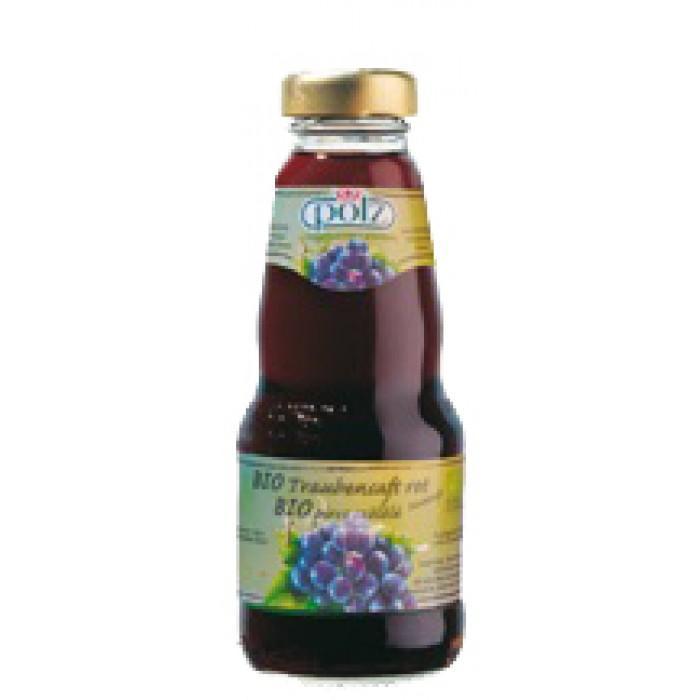 Био сок от червено грозде 100%, 200 мл