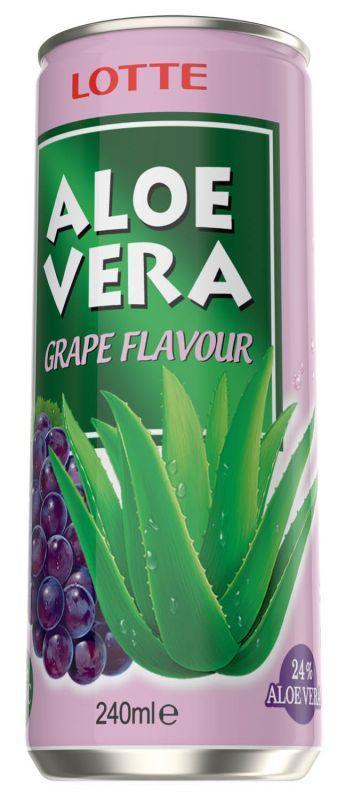 Напитка с алое вера и вкус на грозде