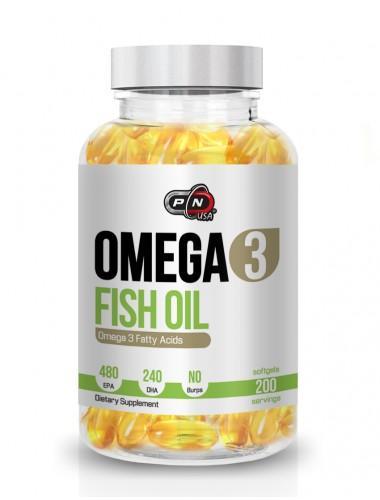 Omega 3 Fish Oil - 100 Дражета
