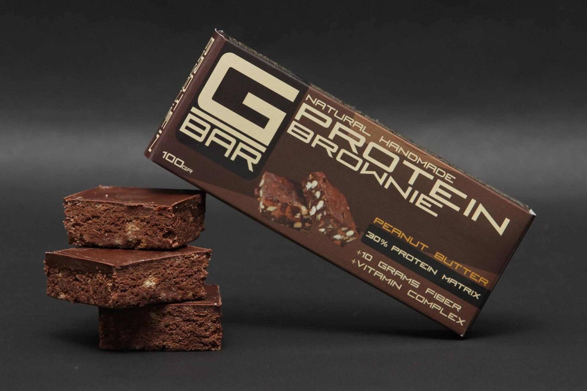 G-BAR Natural Handmade Protein Brownie 100 гр