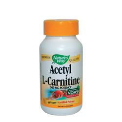 Ацетил-Л-карнитин 500 mg х 60 капс