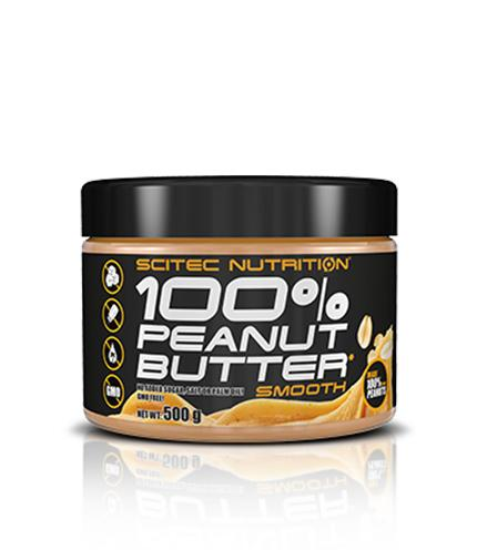 100% Peanut Butter 500гр. SCITEC