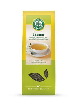 Био зелен чай с жасмин, насипен