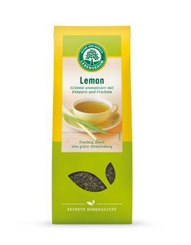 Био зелен чай с лимон, насипен