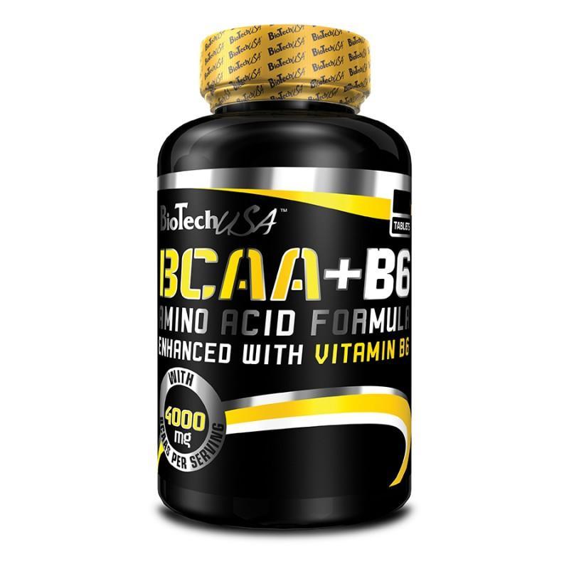 BioTech - BCAA + B6 - 100 Таблетки