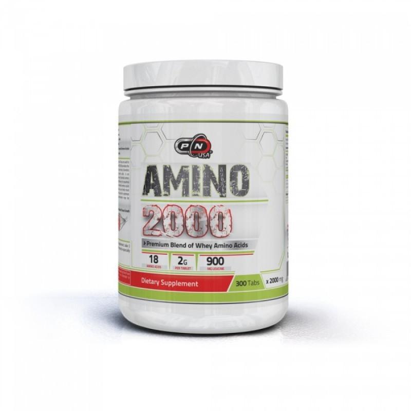 AMINO 2000 МГ + LEUCINE - 300 Tаблетки