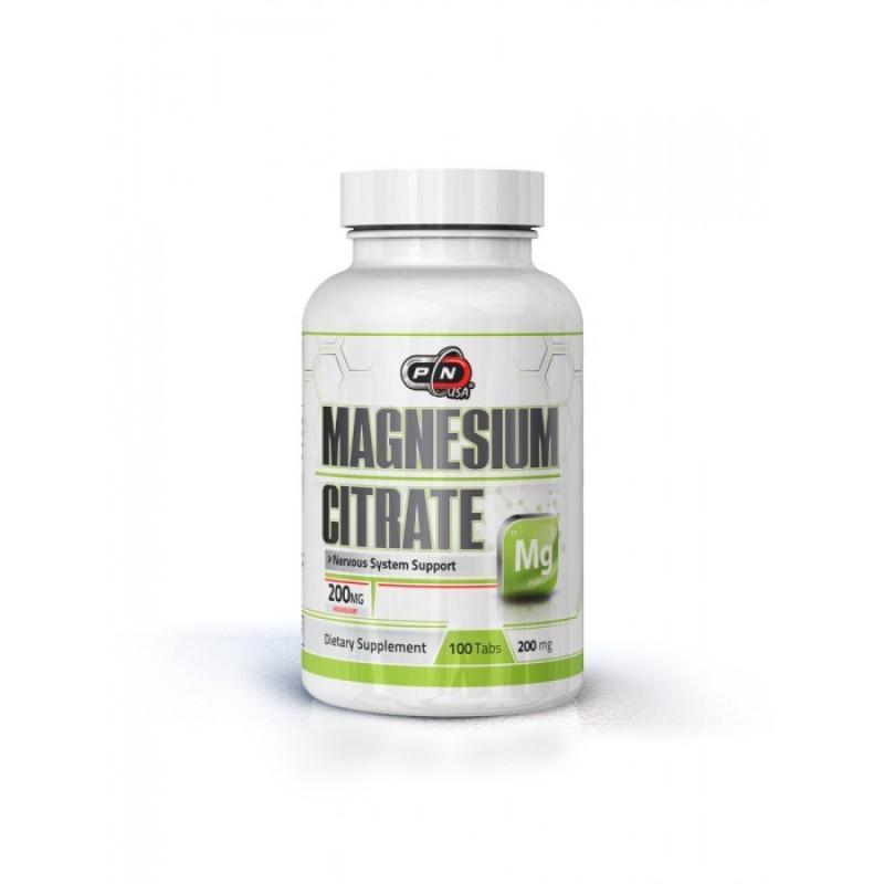 Magnesium Citrate - 200 МГ - 100 таблетки