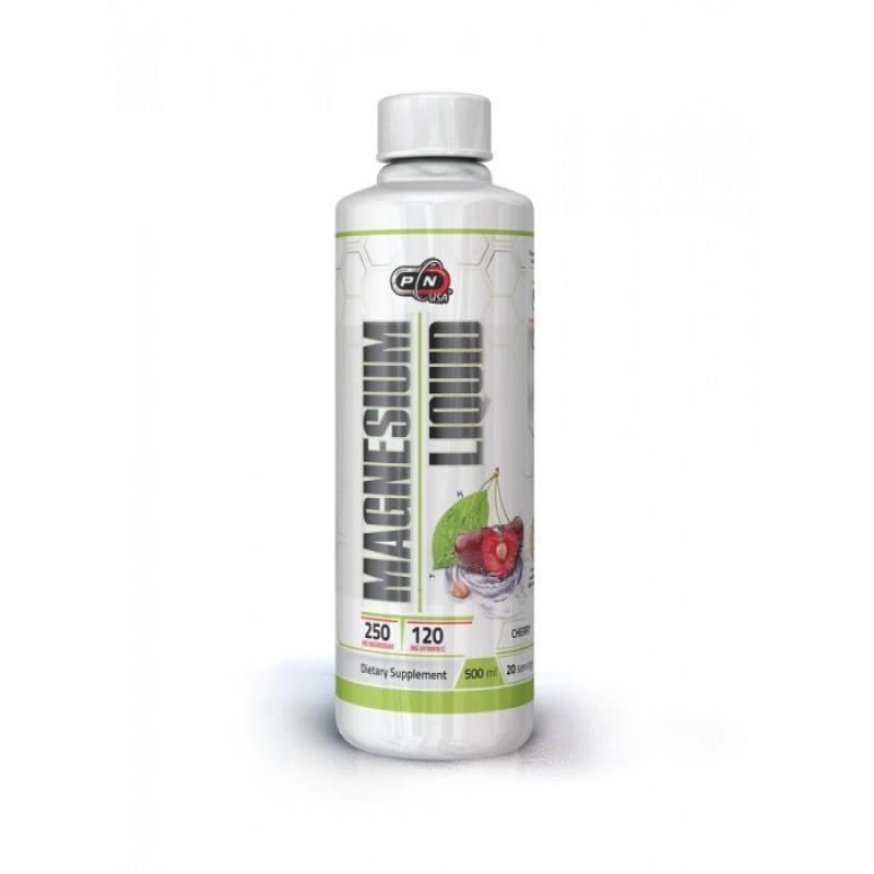 MAGNESIUM LIQUID + VIT C - 500 ml - Cherry