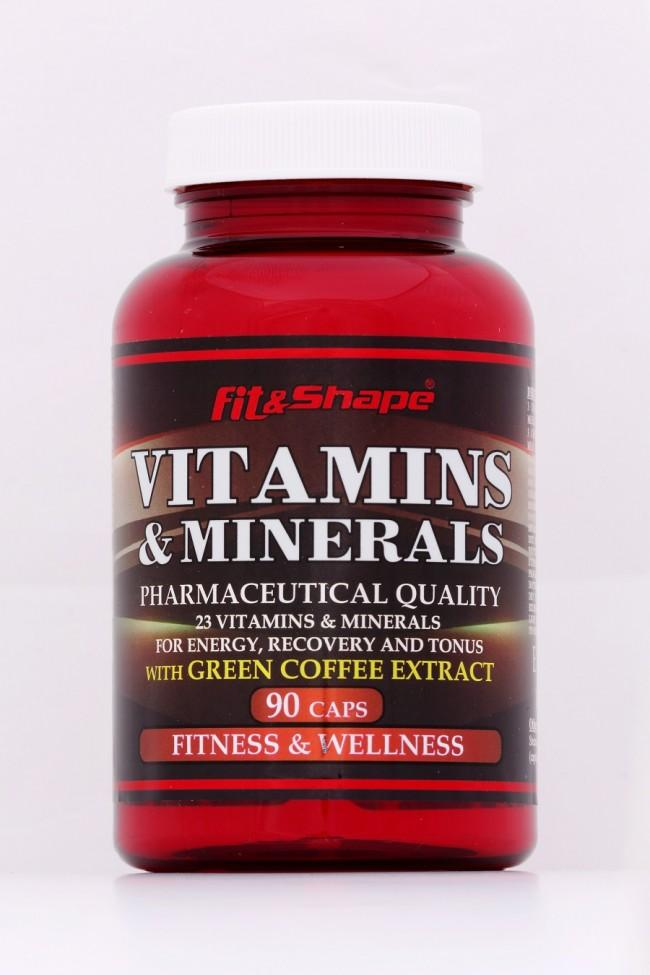 MULTIVITAMINS + GREEN COFFEE
