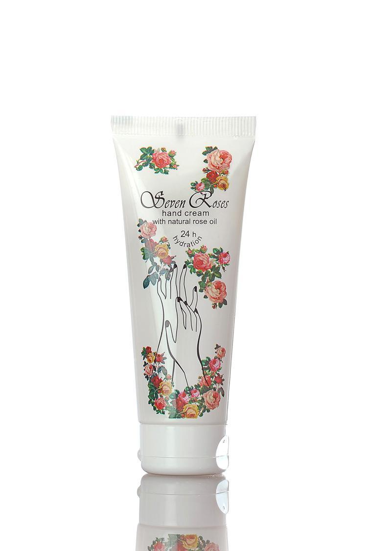 """Хидратиращ и възстановяващ крем за ръце """"SEVEN ROSES"""" 75 ml"""