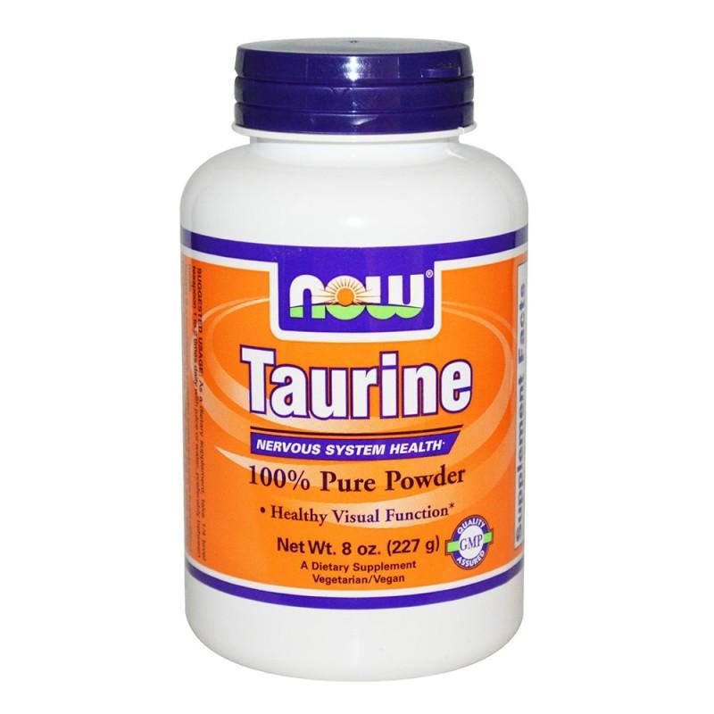 Taurine Powder - 227 Г NOW