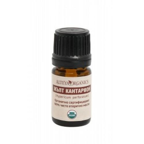 Био етерично масло от жълт кантарион 5мл