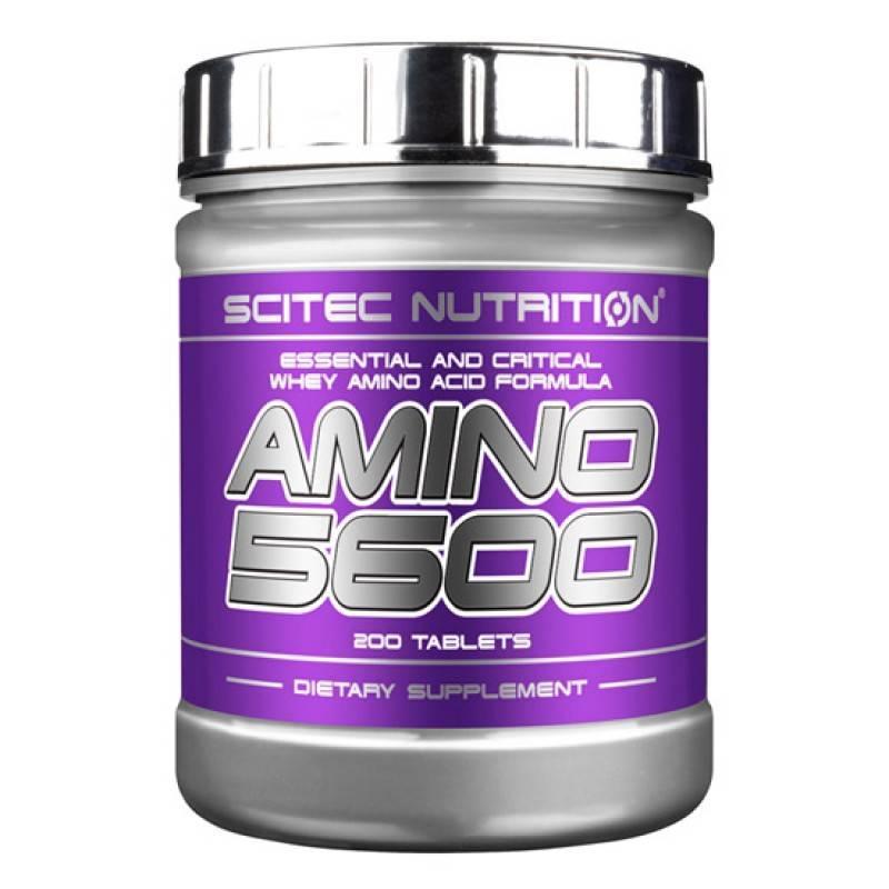 Amino 5600 - 200 Tаблетки SCITEC