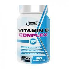 Real Pharm Vitamin B Complex 90 таблетки (90 дози)