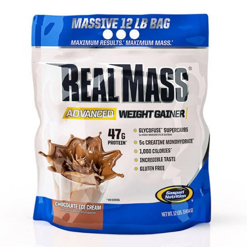 Real Mass Advanced - 5,4 кг Gaspari Nutrition