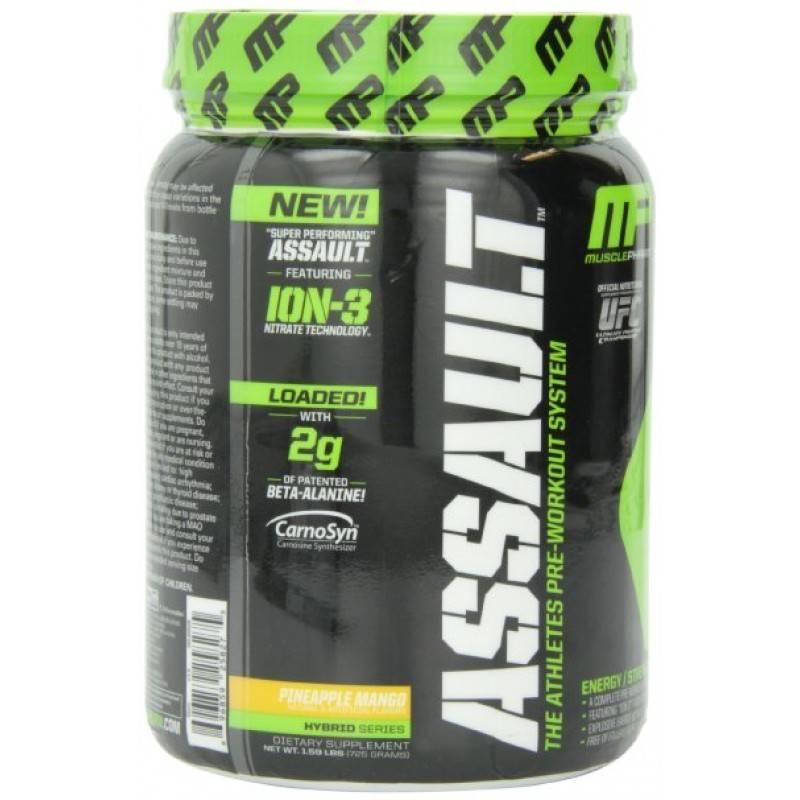 Assault - 50 дози MusclePharm