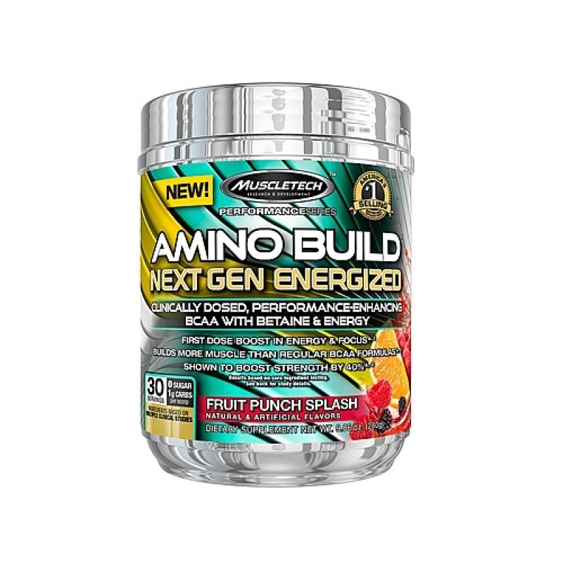 MUSCLETECH - Amino Build - Next Gen Energized