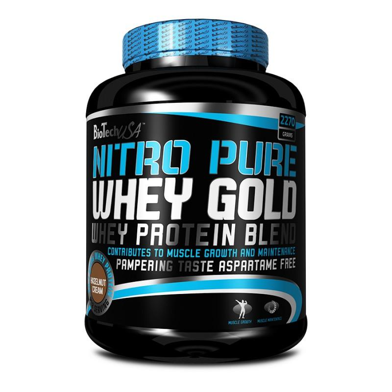 Nitro Pure Whey Gold 2270 Г