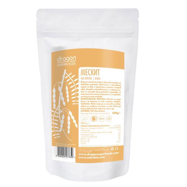 Био Mескит на прах, Dragon Superfoods, 200 g