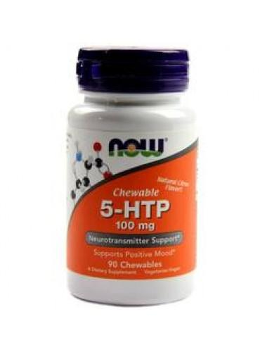 5-HTP 100 мг  60 капсули NOW Foods