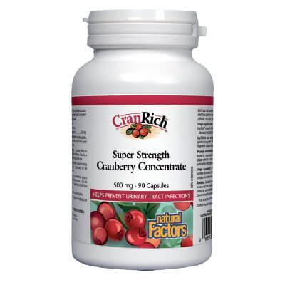 Кран Rx – Червена боровинка 500 mg х 90 Vкапс.